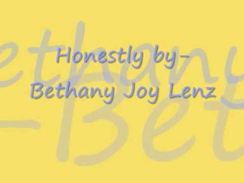Tekst piosenki Bethany Joy Lenz - Honestly po polsku