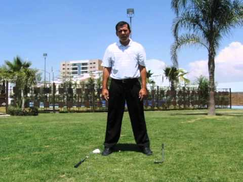 GOLF LESSONS – BACKSWING – SHOULDERS TURN (FIX OVERSWING, ACROSS THE LINE)