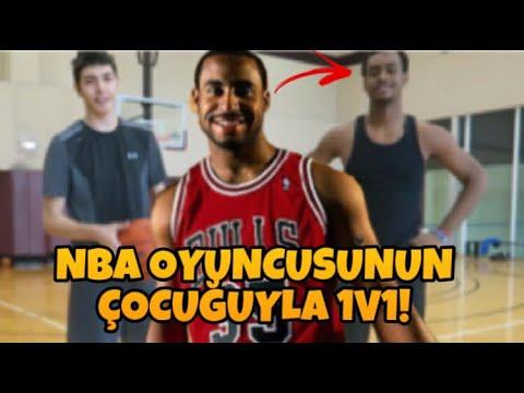 NBA OYUNCUSUNUN ÇOCUĞUYLA 1V1!