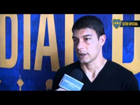 Sebas habla de sus 300 partidos con el Boca Juniors