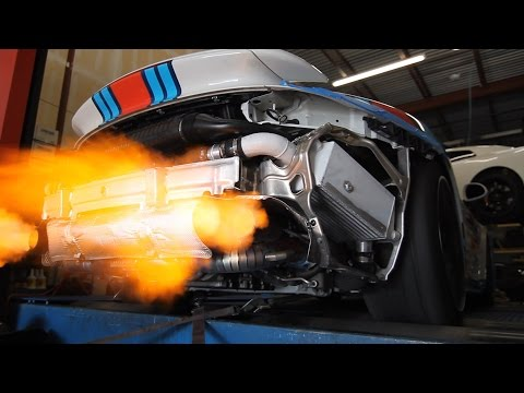 Boost Logic 991 Turbo Formula Series Titanium Exhaust Dyno