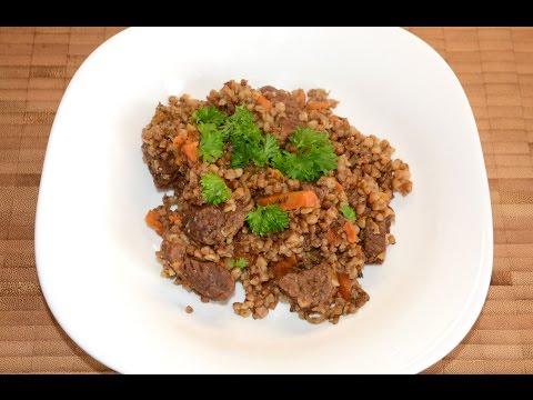 Гречка с мясом мультиварке рецепт с фото