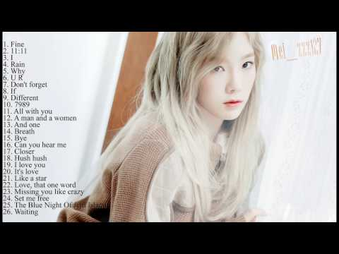 The best songs of Kim TaeYeon