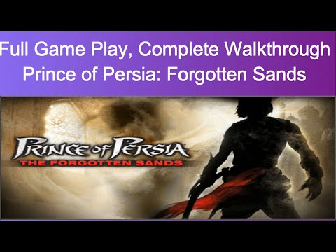 Prince Of Persia: Forgotten Sands Full Game Play | Complete Walkthrough | (Firstmask)