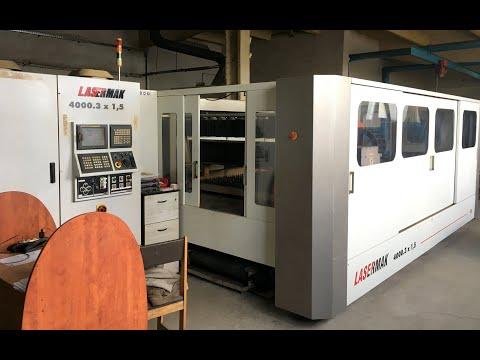 2D laser ERMAKSAN LASERMAK 4000.3 X 1,5 2011