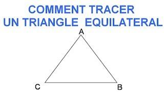 Maths 6ème - Les Bases De La Géométrie : Le triangle équilatéral Exercice 17
