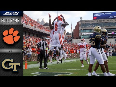 Clemson Vs Georgia Tech Full Game | 2018 College Football