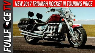 8. 2017 Triumph Rocket III Touring Specs, Top Speed and Price