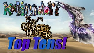 Video My Top Ten Favorite Monster Hunter Monsters! (Old, link to remake in description) MP3, 3GP, MP4, WEBM, AVI, FLV Mei 2019