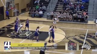 RHS Girls Basketball vs Whitko