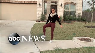 Video Teen goes viral with gravity-defying dance move MP3, 3GP, MP4, WEBM, AVI, FLV Januari 2018