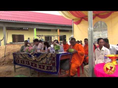 Cérémonie d'ouverture de l'école de Toul Khpous