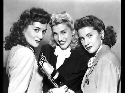 The Andrews Sisters - Shoo Shoo Baby lyrics