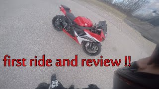 5. 2013 suzuki gsxr 600 test ride and review