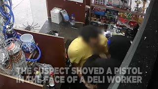 Bronx Deli Worker Struggles With Gunman