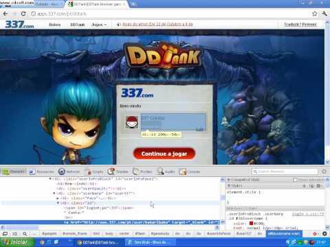 Como hackear contas no DDTANK 2012
