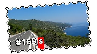 In 2015, I rode through Sveta Jelena when climbing Mt. Učka (#146). This time, I wanted to continue all the way to Rabac.
