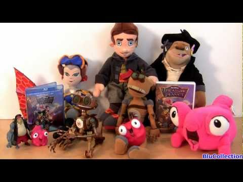 Disney Treasure Planet blu ray DVD Review Toys Plush collection Talking Toys from Disneystore