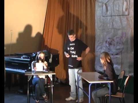 Kabaret Co Oni Tutaj Robią - Uczniowskie myśli II