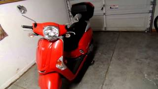 4. 2013 Kymco Like200i Review Plus Drop