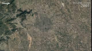 Beijing China  city images : Google Timelapse: Beijing, China