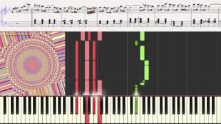Блюз (Blues) (Ноты и Видеоурок для фортепиано) (piano cover)