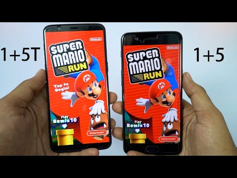 Oneplus 5T vs Oneplus 5 Speed Test, Memory Management test and Benchmark Scores