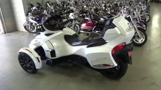 9. 2016 Can-Am® Spyder® RT-S 6-Speed Semi-Automatic (SE6) @ iMotorsports A1413