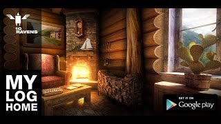 My Log Home iLWP FREE YouTube video