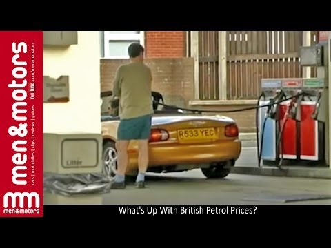 What's Up With British Petrol Prices?