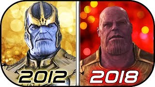 Video EVOLUTION of THANOS in Movies (2012-2018) History of Thanos Avengers Infinity War MP3, 3GP, MP4, WEBM, AVI, FLV Mei 2018
