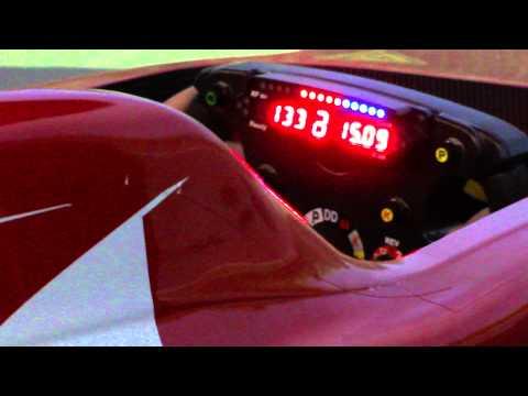 F1 Gp Monza 2011 Alonso simulatore Ferrari All in sports