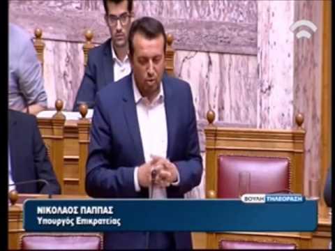Ν. Παππάς προς Ά. Γεωργιάδη: Σας εύχομαι να συνεχίσετε την αλληλογραφία σας με τον κ. Παττακό