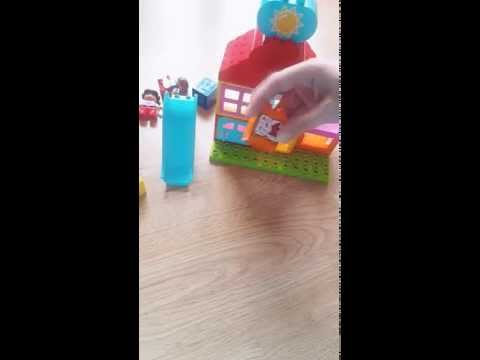 How to buid Lego duplo my first playhouse 10616