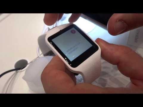 Sony SmartWatch 3, video anteprima
