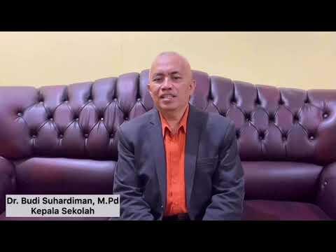 Virtual Speech from Headmaster SMPN 2 Garut