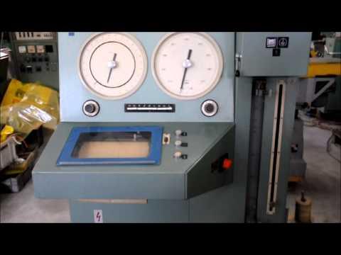 Maszyna wytrzymałościowa FRITZ HECKERT ZT10 173.11 1980