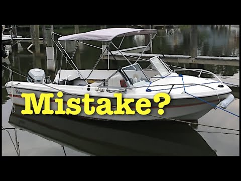 Buying an old boat. Our first year experience with a cheap used boat.