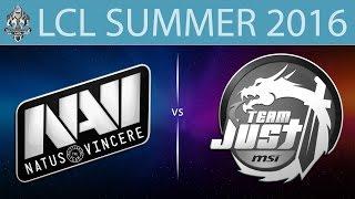 NaVi.CIS vs Just, game 1