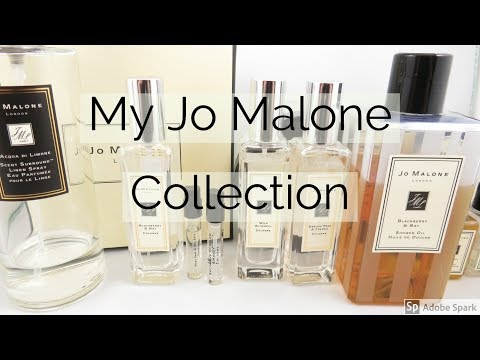 My Jo Malone Collection - Colognes, Body Cremes, Shower Oil, etc.