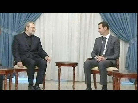 regime - Iranian Parliament Speaker Ali Larijani renewed Tehran's support for the Syrian regime in a meeting with President Bashar al Assad on Sunday. Topping the agenda were fears of renewed Israeli...