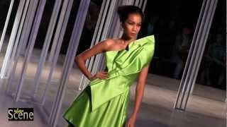 Lie Sang Bong Show At Couture Fashion Week In Bangkok. Movie By Paul Hutton, Bangkok Scene.