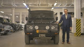Обзор Land Rover Defender