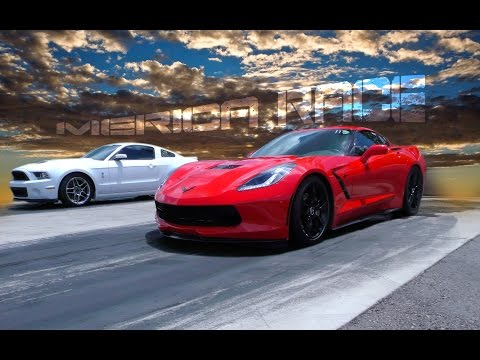 chevrolet corvette c7 vs ford mustang gt 500