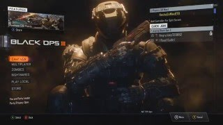 How to play Splitscreen with Guest on Call of Duty Black Ops 3