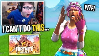 I tried SWEATING in SEASON 8 Fortnite and THIS HAPPENED... (i want to cry)