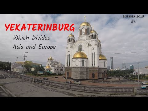 YEKATERINBURG CITY WHICH DIVIDES ASIA AND EUROPE !!!