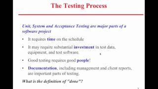 Software Engineering 2 - Live Lecture 6 On 3-9-2011