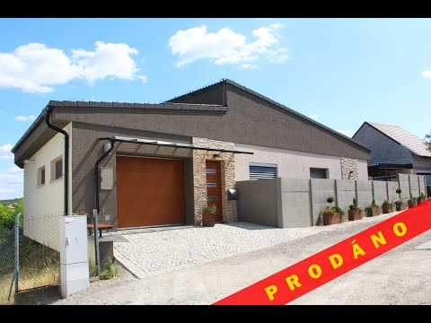 Prodej rodinné vily 5+kk, 220 m2, pozemek 725 m2, Velké Pavlovice