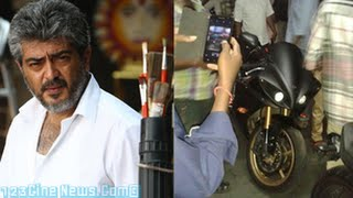 Ajith Fans Turned Out To See Ajith | 123 Cine news | Tamil Cinema News